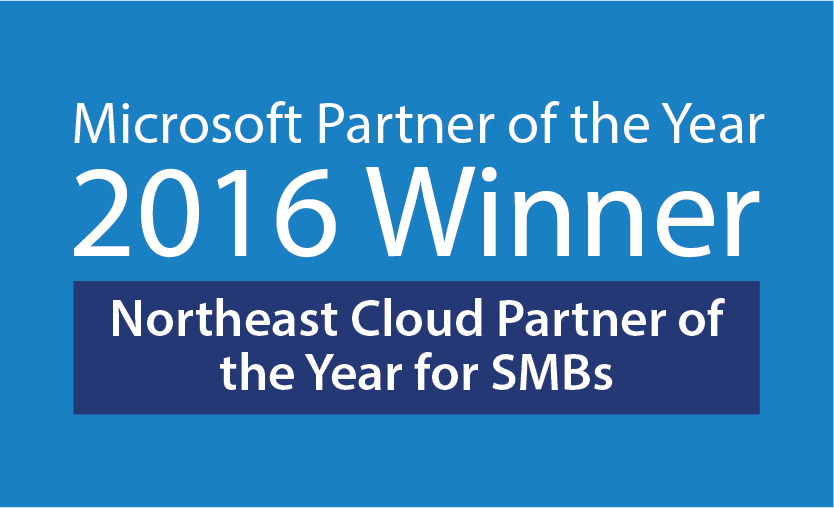 2016 Microsoft Cloud Partner of the Year