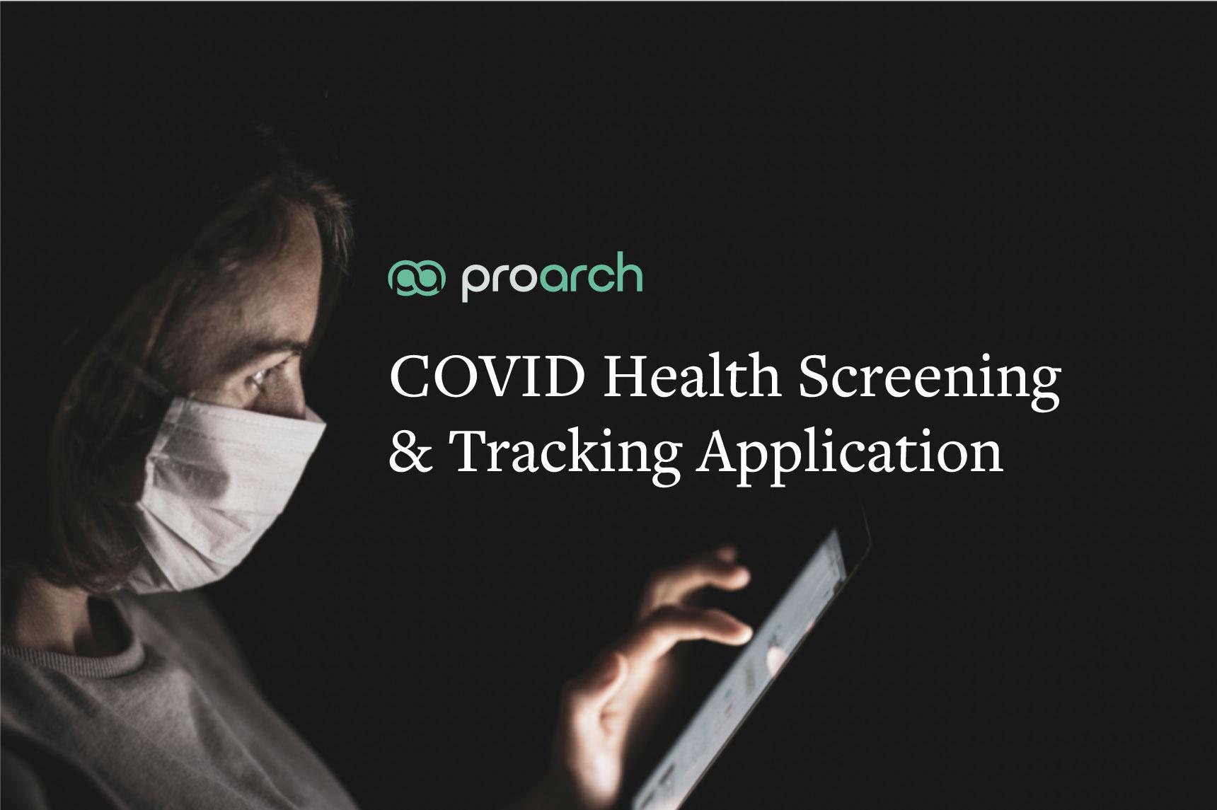 health screening application