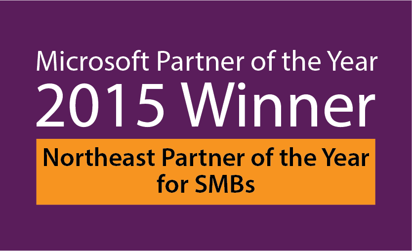 Microsoft Partner of The Year 2015 Winner