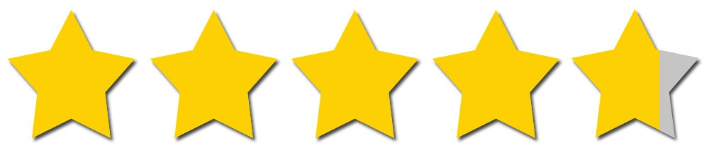 4.76 Stars